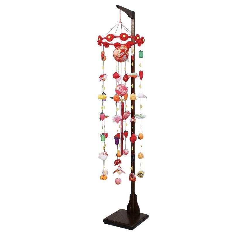 吊るし飾り まり飾り [大] 吊り台付 [ 高さ 約172〜212cm ]