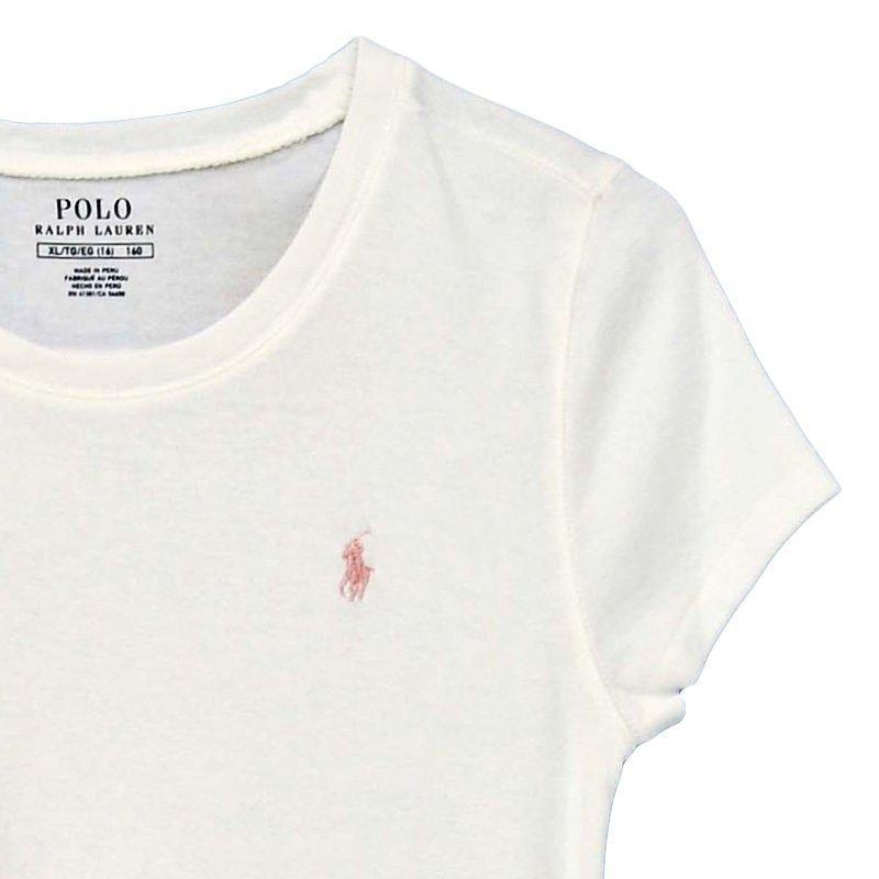 ポロ ラルフローレン Tシャツ レディース 半袖 袖/着丈短め ブランド ワンポイントロゴ 無地 スポーツ #313506994|yumesse|08