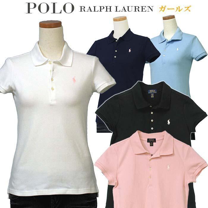ポロ ラルフローレン ポロシャツ 半袖  レディース ガールズ  POLO Ralph Lauren ブランド 母の日 #313573242|yumesse