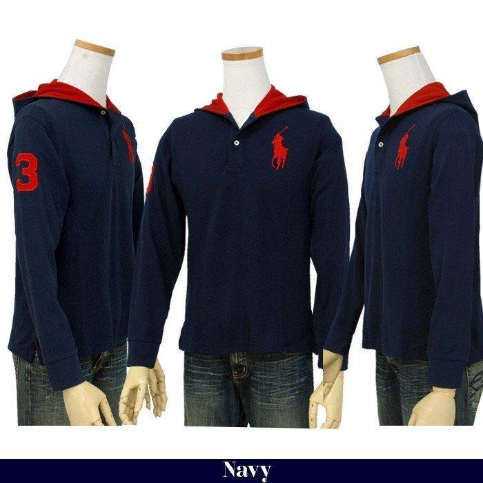 ポロラルフローレン Tシャツ Tパーカー 長袖 メンズ レディース フード付き カットソー ブランド 綿100% #323737843|yumesse|04