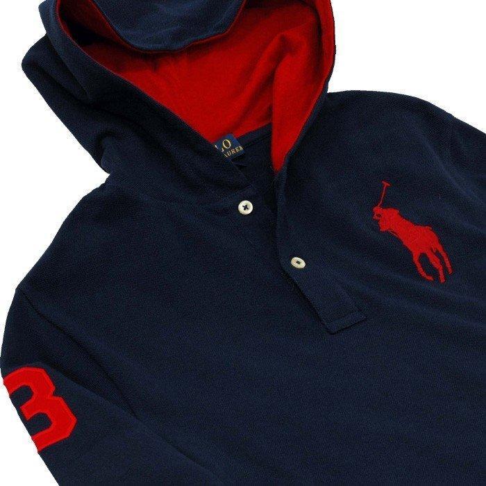 ポロラルフローレン Tシャツ Tパーカー 長袖 メンズ レディース フード付き カットソー ブランド 綿100% #323737843|yumesse|07