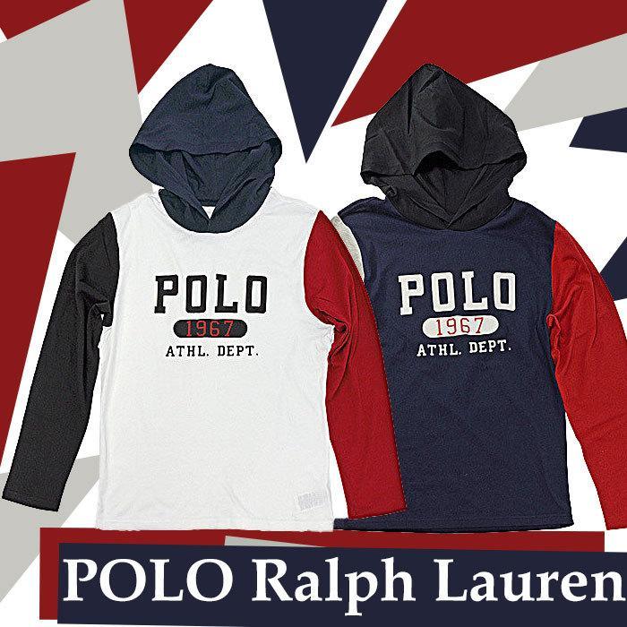 ポロラルフローレン 長袖 Tシャツ Tパーカー メンズ レディース フード付き ブランド 綿100% #323853714|yumesse