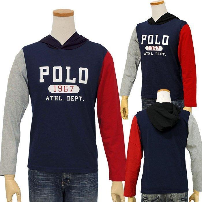 ポロラルフローレン 長袖 Tシャツ Tパーカー メンズ レディース フード付き ブランド 綿100% #323853714|yumesse|05