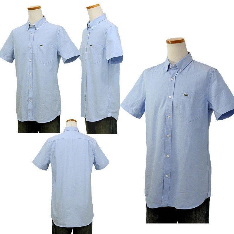 ラコステ シャツ 半袖 メンズ オックスフォードシャツ  カジュアルシャツ ブランド 2021年 春 大きいサイズ LACOSTE  #la-ch4975-51|yumesse|10