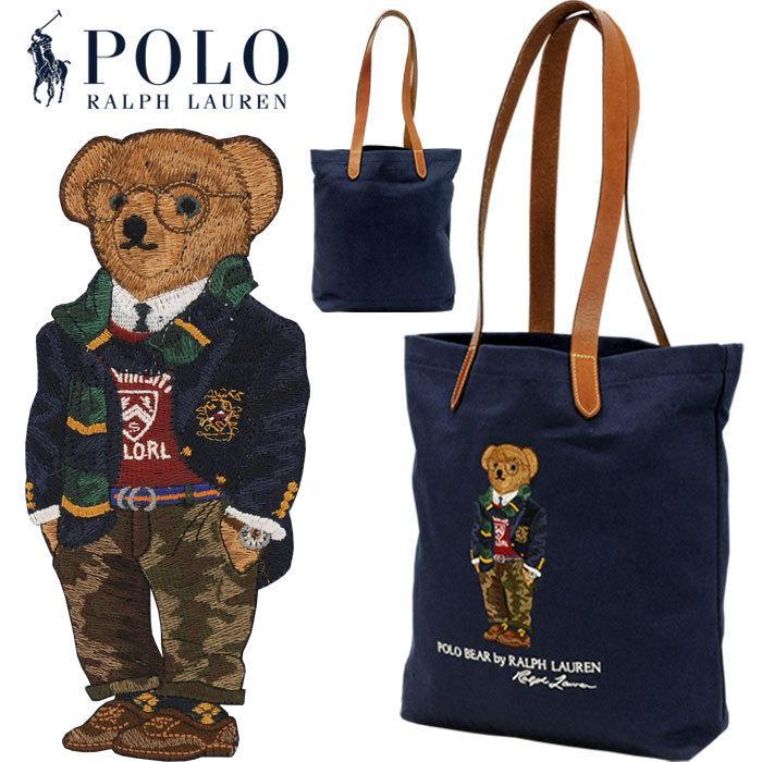 ポロラルフローレン ポロベア トートバッグ レディース メンズ A4 ブランド おしゃれ クマ 熊 POLO Ralph Lauren #rl-405819539 yumesse 02