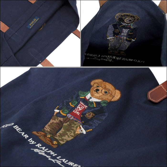 ポロラルフローレン ポロベア トートバッグ レディース メンズ A4 ブランド おしゃれ クマ 熊 POLO Ralph Lauren #rl-405819539 yumesse 07