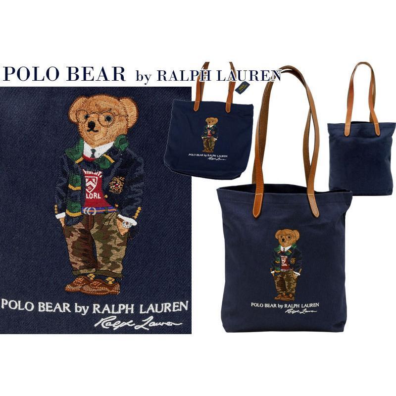 ポロラルフローレン ポロベア トートバッグ レディース メンズ A4 ブランド おしゃれ クマ 熊 POLO Ralph Lauren #rl-405819539 yumesse 08