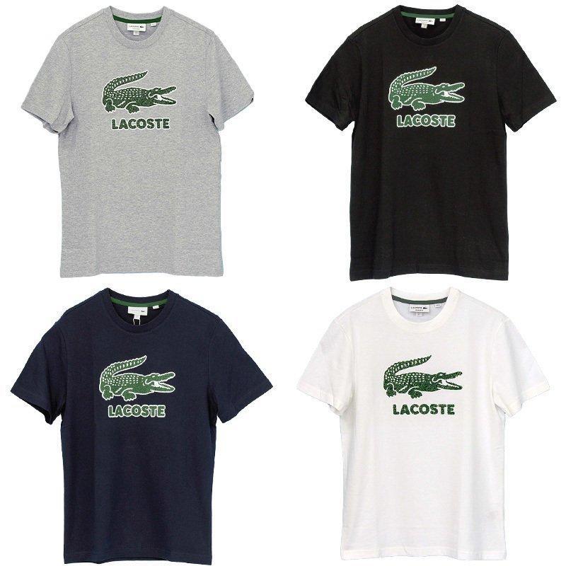 ラコステ Tシャツ メンズ 半袖 ブランド 大きい オシャレ Lacoste 綿100% 父の日 プレゼント カットソー XXL #th-0063-51|yumesse|04