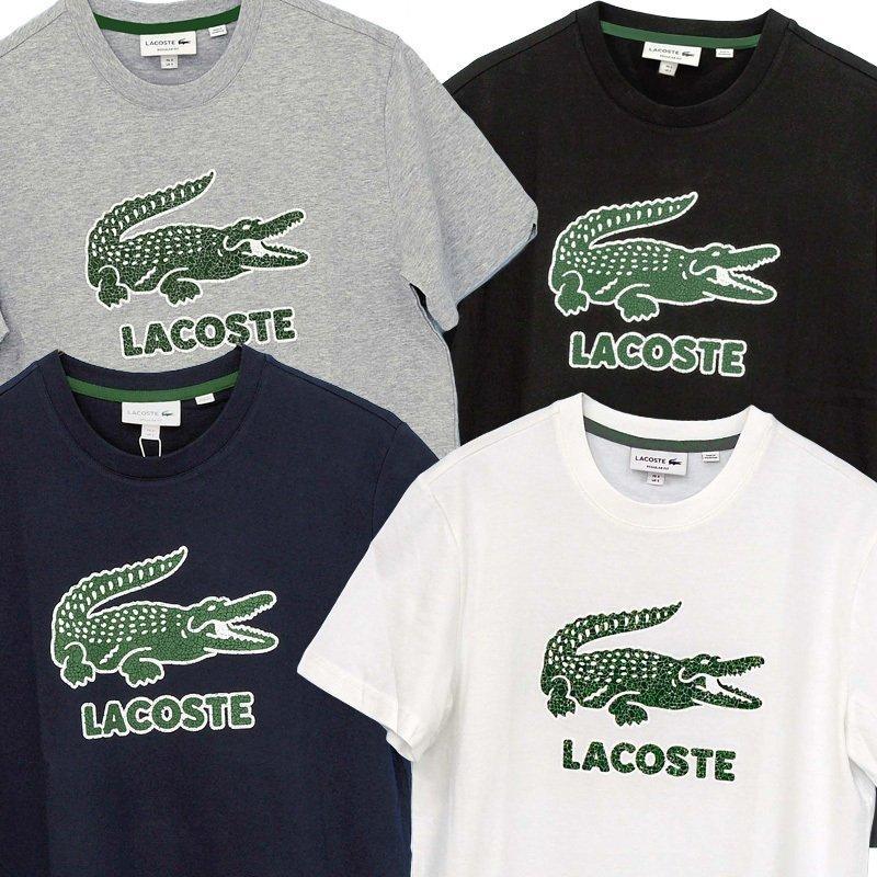 ラコステ Tシャツ メンズ 半袖 ブランド 大きい オシャレ Lacoste 綿100% 父の日 プレゼント カットソー XXL #th-0063-51|yumesse|05