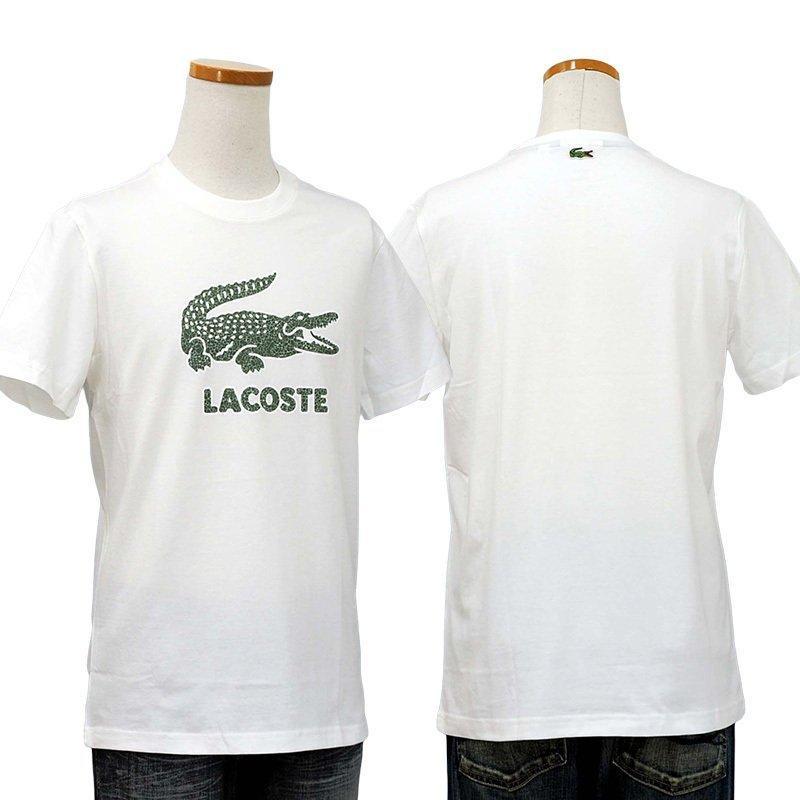 ラコステ Tシャツ メンズ 半袖 ブランド 大きい オシャレ Lacoste 綿100% 父の日 プレゼント カットソー XXL #th-0063-51|yumesse|06
