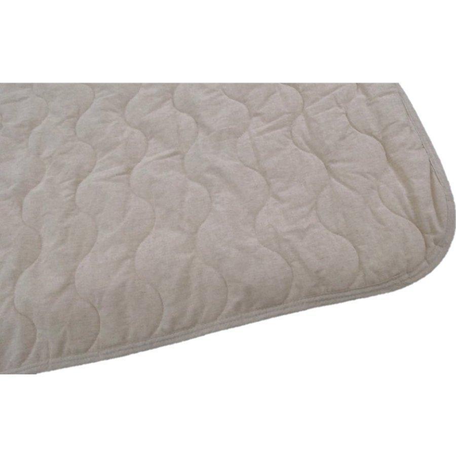 敷きパッド シングル 100×200cm 麻×綿 シングルサイズ 敷パッド S 丸洗いOK ベッドパット yumesse 06