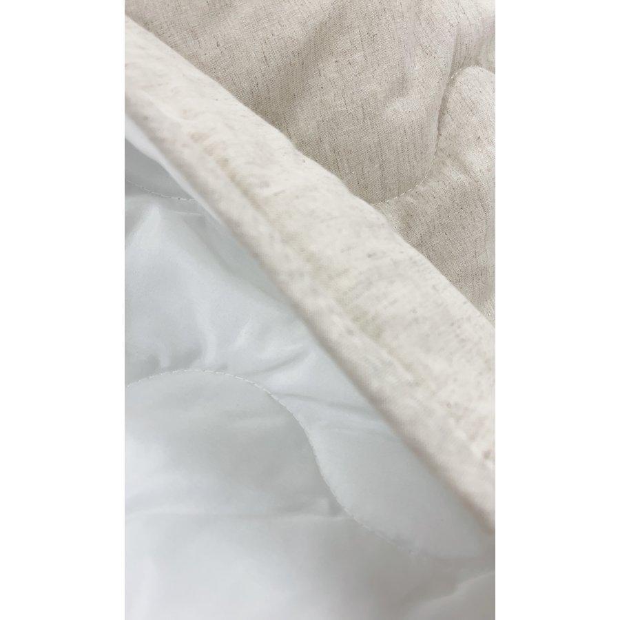 敷きパッド シングル 100×200cm 麻×綿 シングルサイズ 敷パッド S 丸洗いOK ベッドパット yumesse 07