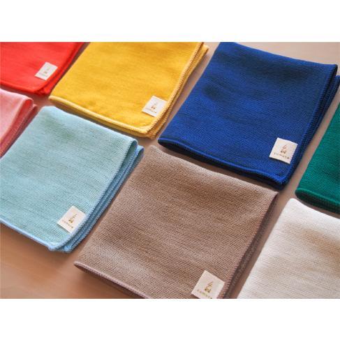 cumuco クムコ 和晒 ガーゼ ハンカチ 25×25cm 綿100% 日本製 無地 シンプル カラフル 三河木綿 選べる8色|yumesse|05