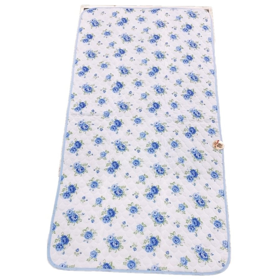 敷きパッド シングル 100×205cm 二重ガーゼ シングルサイズ 花柄 敷パッド S ガーゼ生地 肌にやさしいガーゼ素材 丸洗いOK ベッドパット yumesse 11