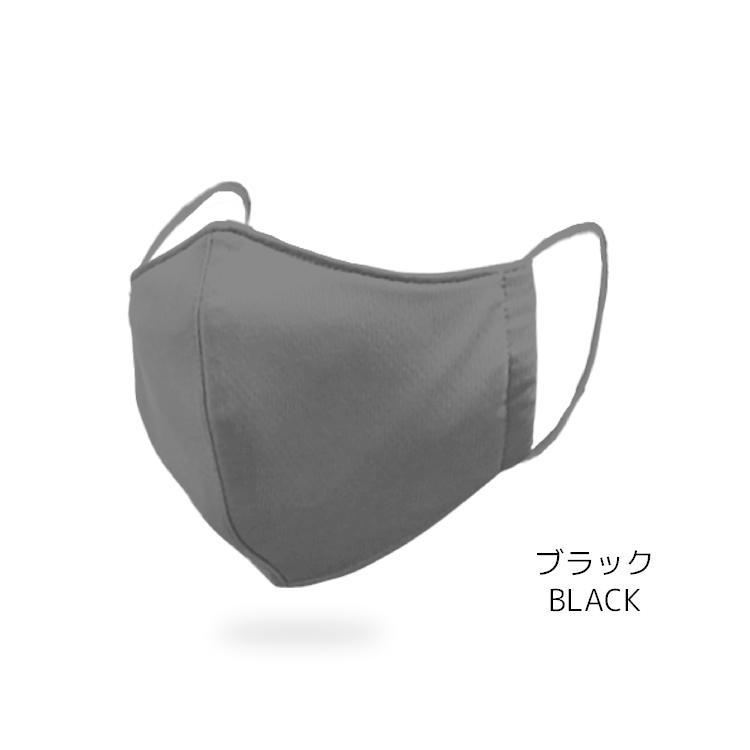 洗えるマスク 抗ウイルス 抗菌加工 吸汗速乾 3層布製 4色(白、黒、グレー、ネイビー)から選べる3枚組 花粉99%カット メンズ レディース|yumesse|07