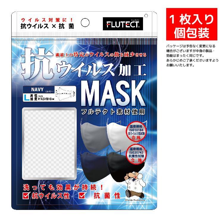 洗えるマスク 抗ウイルス 抗菌加工 吸汗速乾 3層布製 4色(白、黒、グレー、ネイビー)から選べる3枚組 花粉99%カット メンズ レディース|yumesse|09