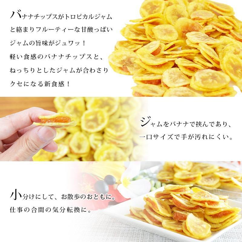 バナナチップス <パッションバナナサンド 200g> タマリンド パッションフルーツ トロピカル ばなな ココナッツオイル|yummy39|03
