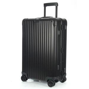 【リモワ】RIMOWA TOPAS トパーズ ステルス 986.14 マルチホイール 82L アルミ ブラック 4輪 スーツケース 920.70.01.4