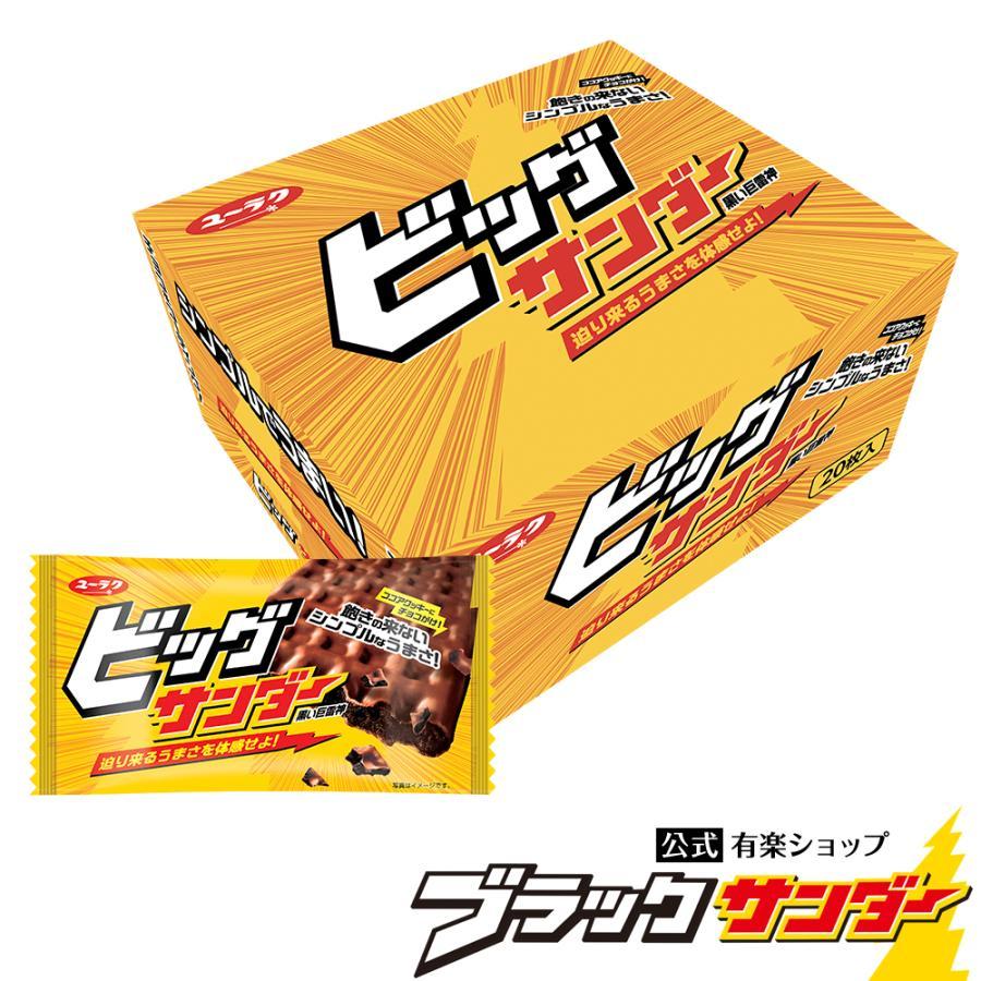 ビッグサンダー 1箱20枚入 2021 母の日 プレゼント 花以外 実用的 チョコ プチギフト スイーツ お菓子 ギフト ブラック サンダー 個包装|yurakuseika