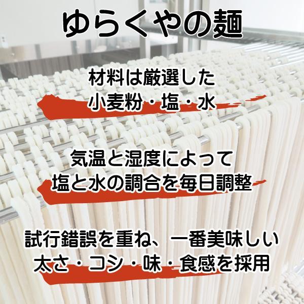 讃岐うどん 半生 4人前 かけうどん ぶっかけうどん ざるうどん つゆ付 ご自宅 在宅|yurakuya-udon|03