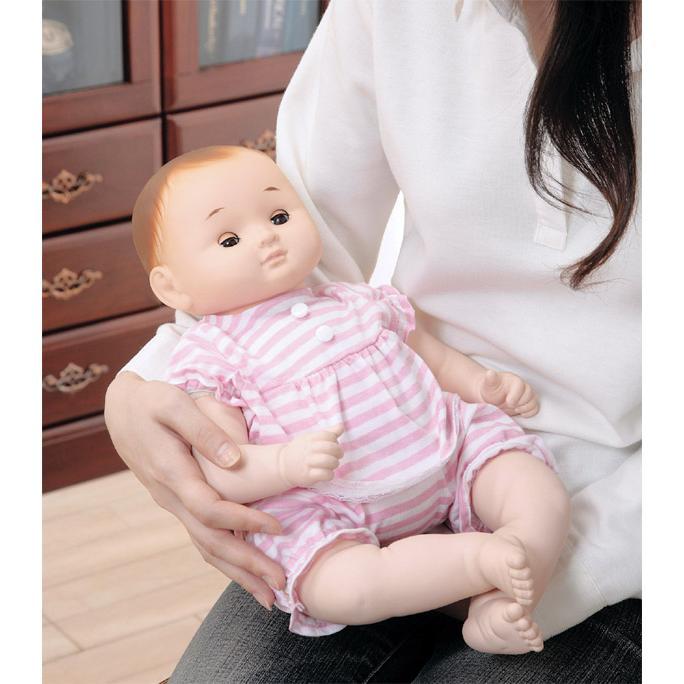 癒しの赤ちゃん人形のんちゃんぱちぱちタイプ / おもちゃ ドールセラピー人形子供情操教育誕生日プレゼント50 60サイズベビー服着せ替【ランキング1位獲得】