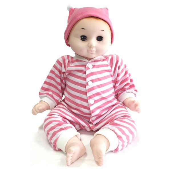 癒しの赤ちゃん人形ともちゃん3色 / おもちゃ ドールセラピー人形子供情操教育誕生日プレゼント50 60サイズベビー服着せ替え人形遊びブ【ランキング1位獲得】