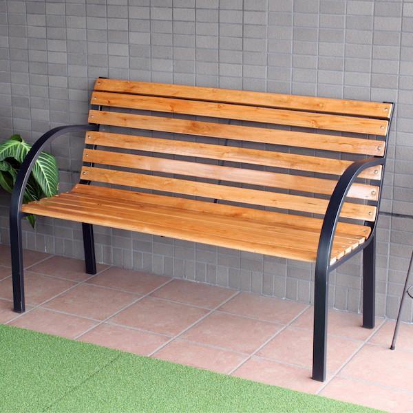 ガーデンベンチ GJ-1A / / / ガーデンチェア 木製 イス チェア ベンチ 990