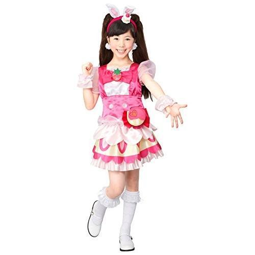 AP: キラキラプリキュアアラモード キュアホイップ 変身プリチューム キッズコスチューム 女の子 95cm-115cm|yuun