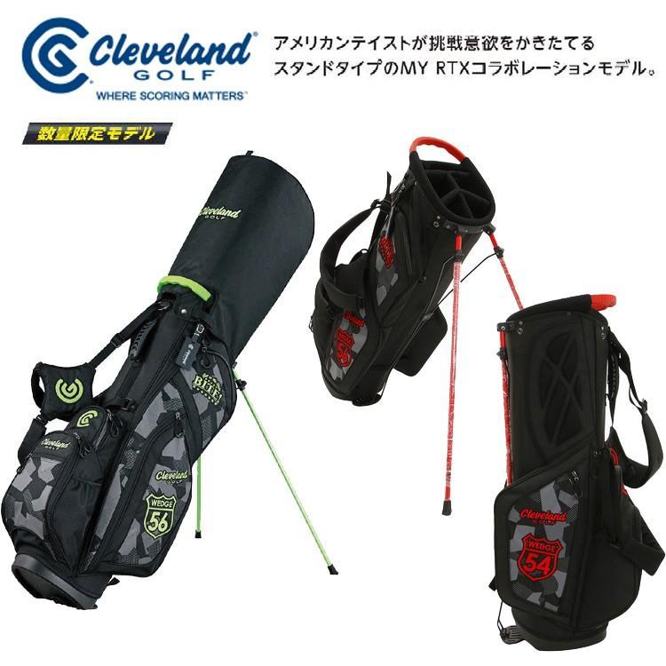 クリーブランドゴルフ 数量限定モデル GGC-C019L スタンドキャディバッグ 【限定】【スタンド】【スタンド式】【クリーブランド】