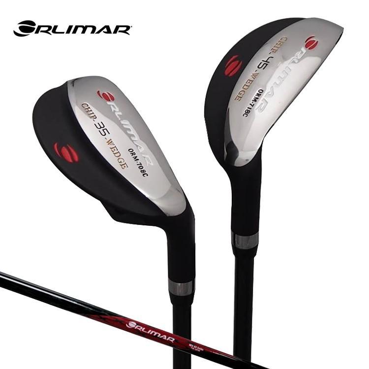 オリマー お買得 ゴルフ ORLIMAR 品質保証 チッパー ORM708C 35度 ORM718C カーボンシャフト 45度 CHIP WEDGE