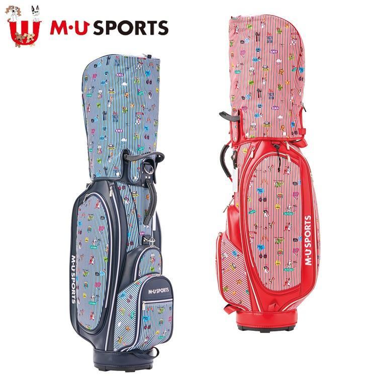 MU SPORTS MU スポーツ キャディバッグ ゴルフバッグ 9.5型 レギュラーソール 703P6110 【バッグ】【M・U SPORTS】【MUスポーツ】【エムユー】
