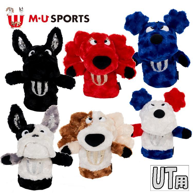 MU SPORTS スポーツ ユーティリティー ヘッドカバー 703D2550 703D2552 割り引き UT キャラクター ユーティリティーカバー 新作通販 U M 703D2554 MUスポー