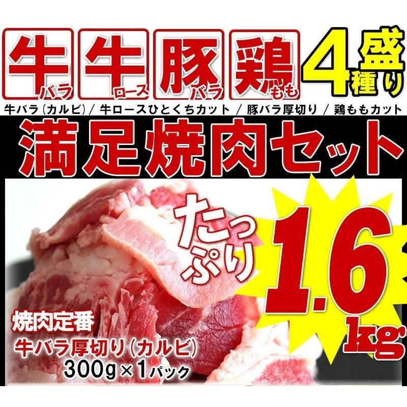 BBQ 肉 バーベキュー セット 焼肉 食材 牛肉 豚肉 鶏肉 タレ 合計 1.6kg 6人前〜8人前 わけあり 訳あり アウトドア|yuuzen-hb|02