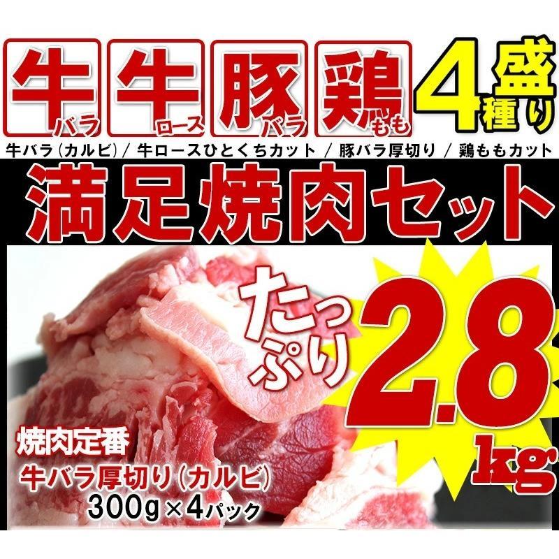 バーベキュー 肉 食材 BBQ セット 焼肉 牛肉 豚肉 鶏肉 合計 2.8kg 10人前〜15人前 わけあり 訳あり アウトドア yuuzen-hb 02