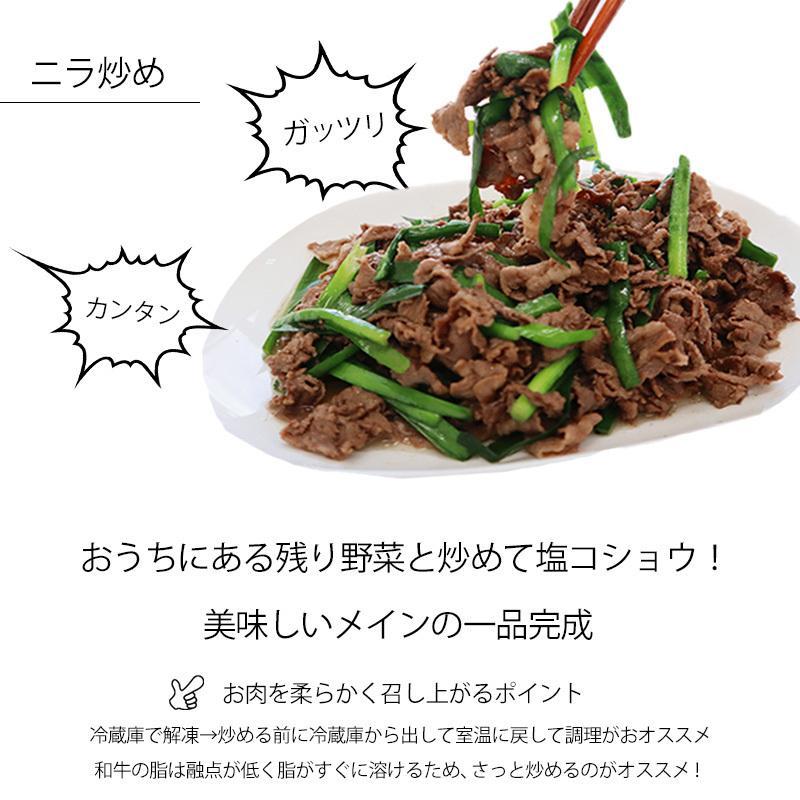 牛肉 黒毛和牛 こま切れ 300g 端っこ 切り落とし|yuuzen-hb|02