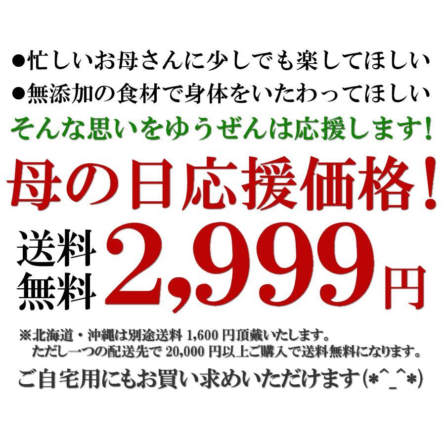 遅れてごめんね 母の日 2021 ギフト 惣菜 セット 無添加 ほほえみセット 5種 7個入 期間限定 中身が見える 詰め合わせ|yuuzen-hb|05