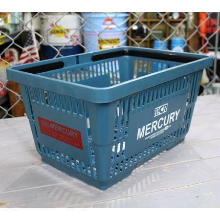 キーストーン マーキュリーマーケット バスケット ブルー W42×D29.2×H22cm|yuyu-harebare|05