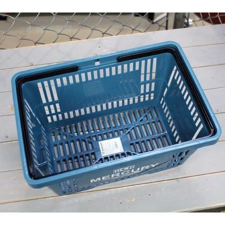 キーストーン マーキュリーマーケット バスケット ブルー W42×D29.2×H22cm|yuyu-harebare|06