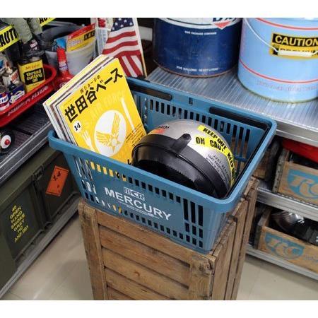 キーストーン マーキュリーマーケット バスケット ブルー W42×D29.2×H22cm|yuyu-harebare|07