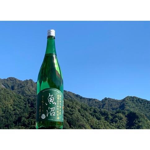 白瀧酒造 魚沼 辛口純米酒 1800ml|yuzawa-takahashiya|02