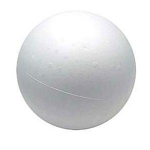 発泡スチロール 素材 『素ボール 真球型 直径200mm 1個入り S200-1』