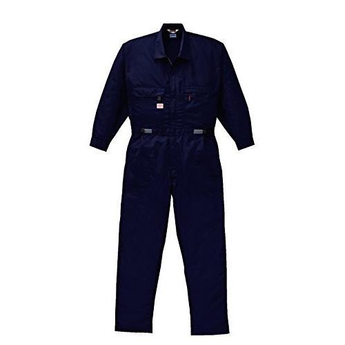 空調服 綿・ポリ混紡長袖ツヅキ服 BK-500T2 LL ネイビー