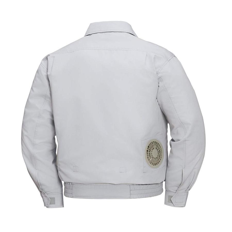 (ジーベック) (ジーベック) (ジーベック) XEBEC 空調服 長袖ブルゾン(高密度ブロード ポリエステル75%・綿25%) (服のみ・XE98007) チャコールグレ cae