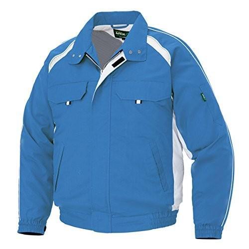 アイトス AITOZ 空調服用 空調服用 空調服用 長袖ブルゾン AZ1799 006 ロイヤルブルー 6L b96