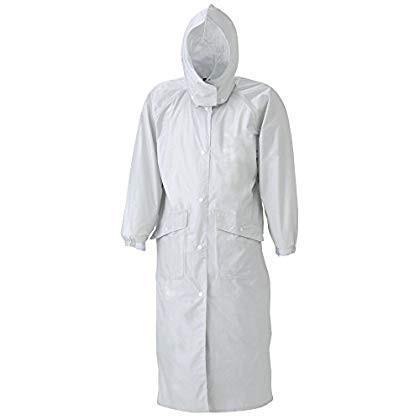 スミクラ 透湿ストリートコート 全4サイズ レインコート シルバー MR 防水・透湿 収納袋付き 反射テープ付き 正規代理店品