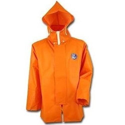 水産マリンレリー レスキューオレンジ 上着パーカー 漁師専用レインスーツ (4L)