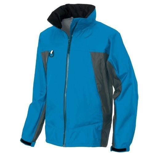 ディアプレックス 全天候型ジャケット AZ-56301 ブルー×チャコール 5Lサイズ