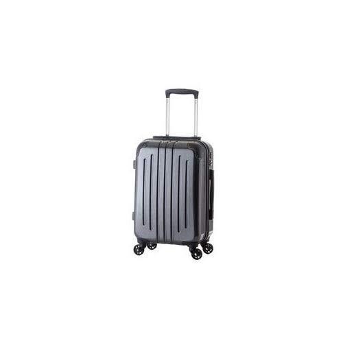 (機内持ち込み可) 軽量スーツケース/キャリーバッグ (カーボンブラック) 29L 2.6kg TSAロック