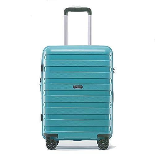 スーツケース 大型 軽量 キャリーバック ハード ケース 旅行用品 L M S サイズ P-7012L (L、大型、28, スカイブルー)
