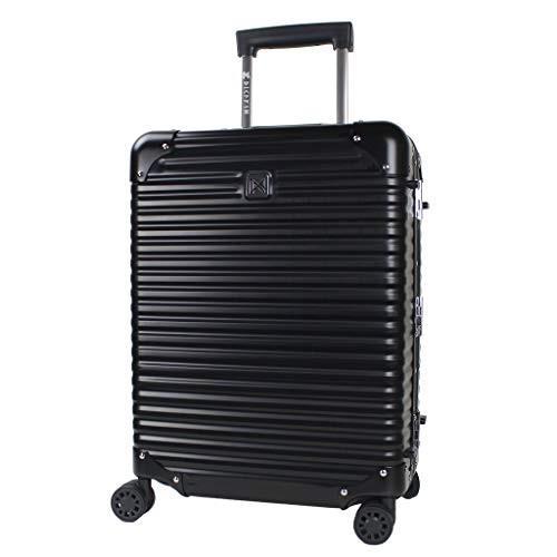 ランツォ スーツケース ノーマン 21インチ 機内持込可 34L 49cm 4.6kg 62104Black/Black